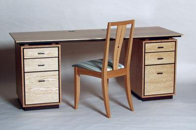 Geddes Desk, in oak