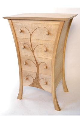 Sapling chest of drawers (PHOTOGRAPHS BY ARTHUR & RACHEL CADMAN)