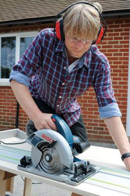 The Bosch GKS 65 G circular saw