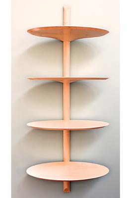 Elevata shelves by Cato Design won the overall design award