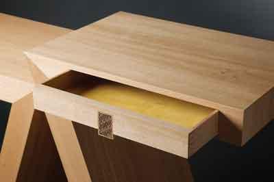 Detail shot of Sept hall table (PHOTOGRAPHS COURTESY OF NEIL & PAM ERASMUS)