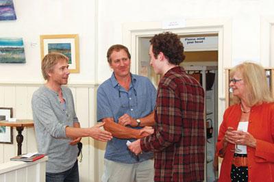 Derek Jones and Tom Kealy meet Charles Byron, the worthy winner of The Furniture Prize