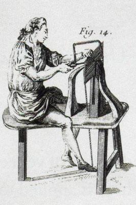 Martin Ellias, c.1770. English marquetry cabinetmaking workshop. The Swedish National Art Museum, Stockholm