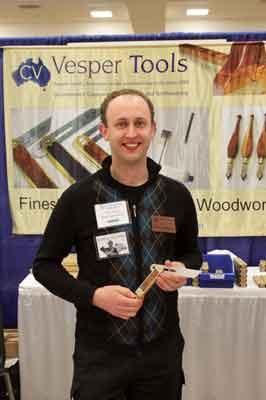 Chris Vesper, of Vesper Tools, Australia