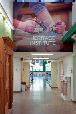 Algonquin Heritage Institute – fantastic facilities