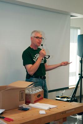 Chris Hahn, Dean of the Algonquin Heritage Institute