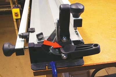 The locking lever