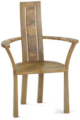 Chair by David Mawdsley (Photograph by David Mawdsley)