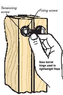 The Soss barrel hinge