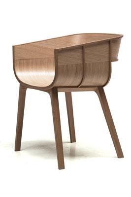 Maritime chair, by Benjamin Hubert