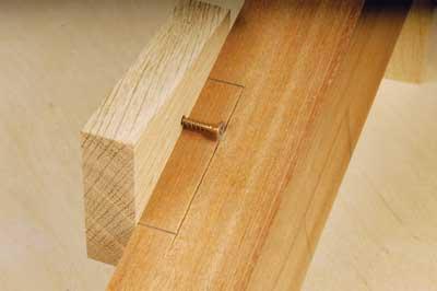 Cutting edge - cross-head screws work better than slot heads