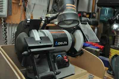 Variable speed 150mm grinder...