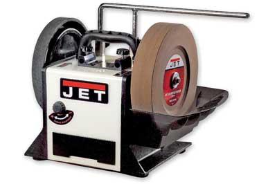 The Jet JSSG-10 wetstone grinder