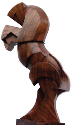 Horse. American black walnut