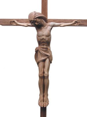 The finished crucifix
