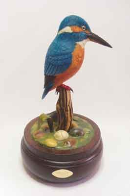Kingfisher, 250 x 140mm