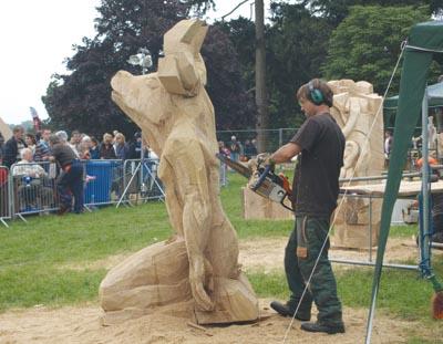 Minotaur, by Tom Harvey. Sculptree