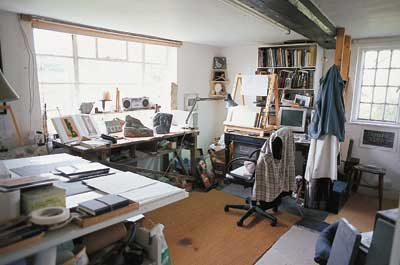 The studio workshop