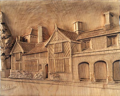 Shibden Hall, by David Holt