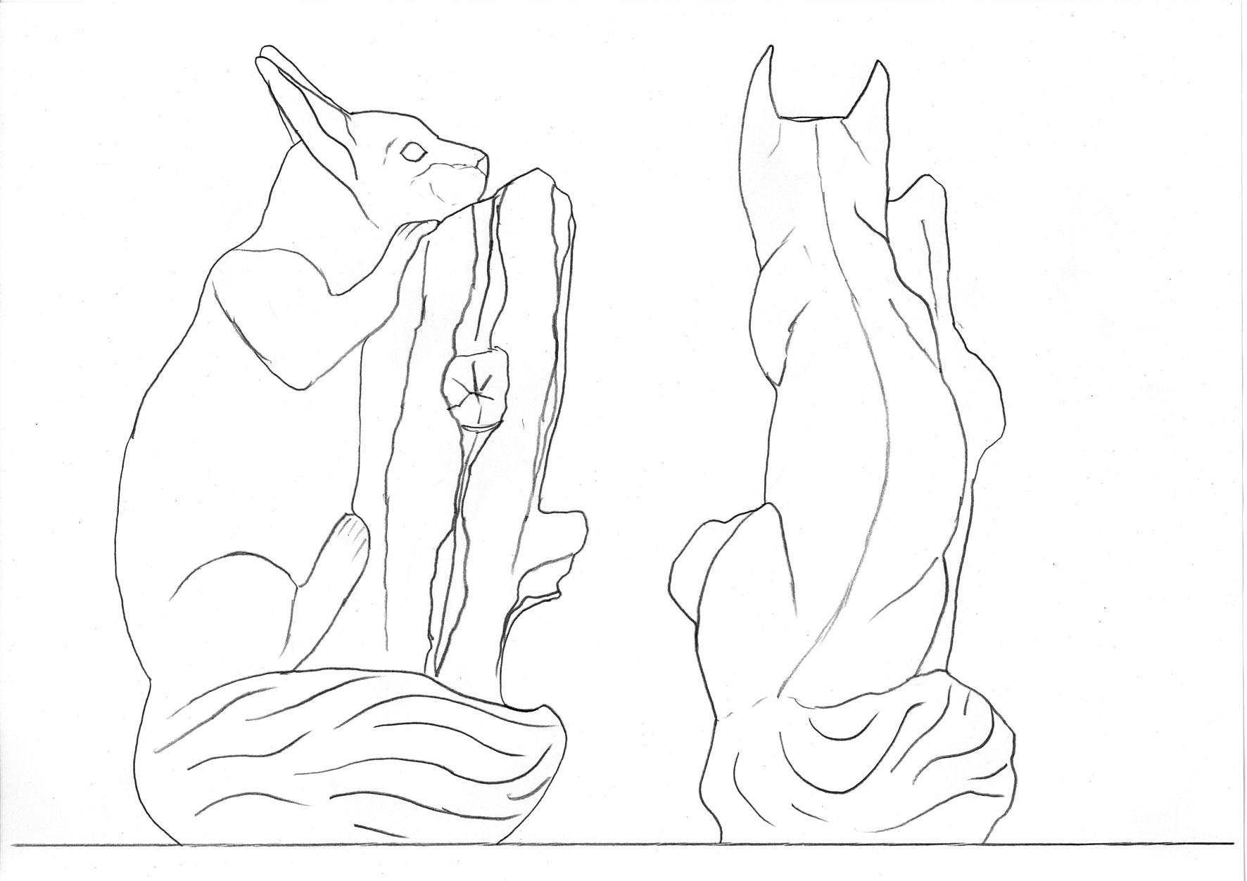 red squirrel wood carving magazine woodworkersinstitute com
