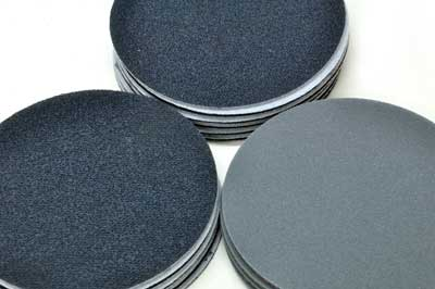 Festool Platin Disks - 1200 grit, and Hermes Fine Net Disks - 2000 grit