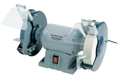 Optigrinder 200mm Slow Speed Bench Grinder Woodturning Magazine