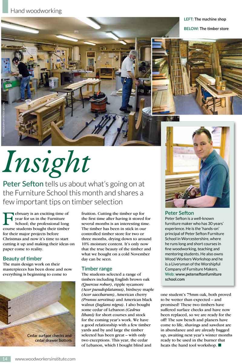 Subscribe Woodworking Crafts Magazine Woodworkersinstitute Com